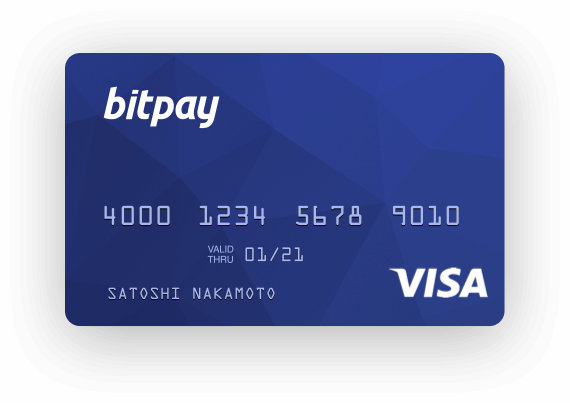 thẻ ghi nợ bitpay